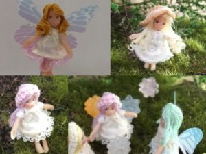 FIMO粘土で妖精を作る