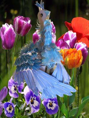 青い鳥完成見本