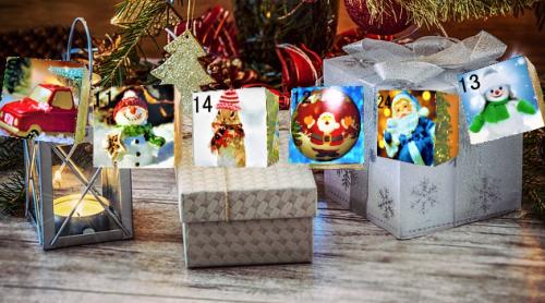 クリスマス仕様のガーランド