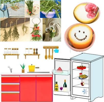 キッチンと冷蔵庫を消臭