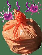 ゴミ袋の臭いをシャットアウト