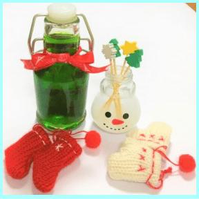 消臭剤クリスマスバージョン