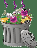 ゴミ箱が臭い