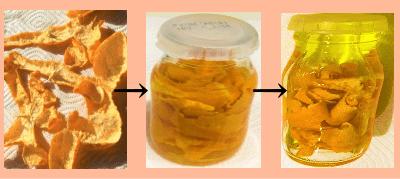 みかんオイルの作り方