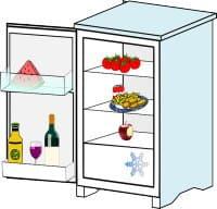 冷蔵庫の消臭