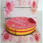 飛び出すカード 誕生日ケーキ見本1